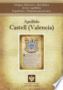 libro Apellido Castell (valencia)