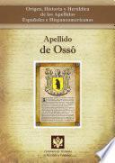 libro Apellido De Ossó