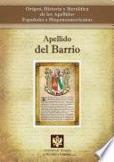 libro Apellido Del Barrio