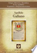 libro Apellido Galiano
