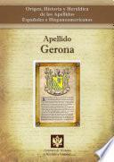 libro Apellido Gerona