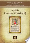 libro Apellido Gordon.(euskadi)
