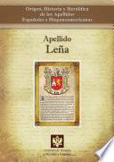 libro Apellido Leña