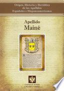 libro Apellido Mainé