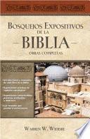 libro Bosquejos Expositivos De La Biblia 5 Tomos En 1