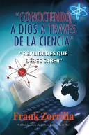 libro Conociendo A Dios A Travs De La Ciencia