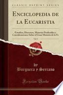 libro Enciclopedia De La Eucaristia, Vol. 5