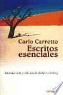 libro Escritos Esenciales De Carlo Carretto