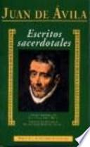 libro Escritos Sacerdotales