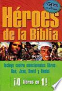 libro Heroes De La Biblia