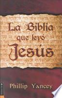 libro La Biblia Que Leyó Jesús