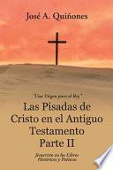 libro Las Pisadas De Cristo En El Antiguo Testamento Parte Ii