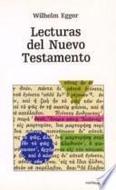 libro Lecturas Del Nuevo Testamento