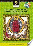 libro Manual 9. La Iglesia, Misterio, Comunión Y Misión