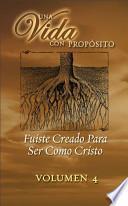 libro Fuiste Creado Para Ser Como Cristo