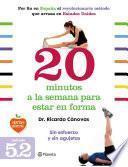 libro 20 Minutos A La Semana Para Estar En Forma