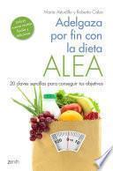 libro Adelgaza Por Fin Con La Dieta Alea