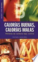 libro Calorías Buenas, Calorías Malas