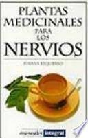 libro Plantas Medicinales Para Los Nervios