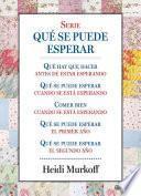 libro Serie Qué Se Puede Esperar (pack) (edición De 2016)
