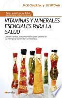 libro Vitaminas Y Minerales Esenciales Para La Salud