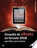 libro Creación De Ebooks En Formato Epub
