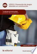 libro Prevención De Riesgos Laborales En Construcción. Eocb0108