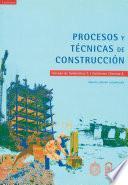 libro Procesos Y Técnicas De Construcción