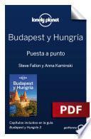 libro Budapest Y Hungría 6. Preparación Del Viaje